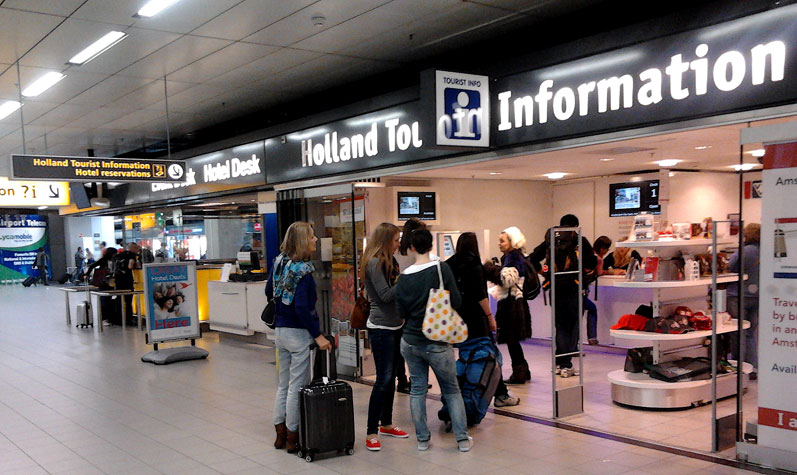 Holland Tourist Information Schiphol
